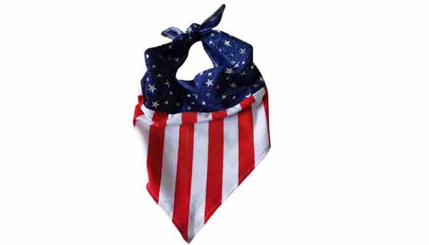 USA flag Bandana - Popatu pageant and easter petti dress