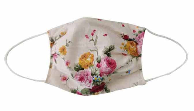 Flower Fabric Face Mask (Adult/Child)