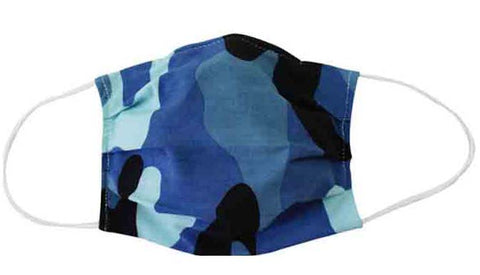 Camouflage Fabric Face Mask (Adult/Child)