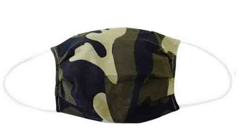 Camouflage Fabric Face Mask