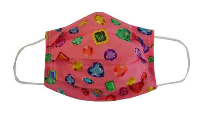 Jewel Fabric Face Mask (Adult/Child)
