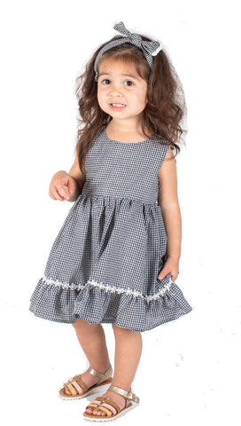 Baby Girls Seesucker Dress