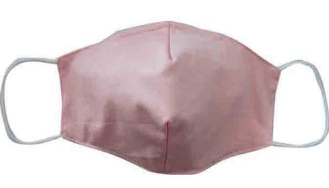 Copper Fiber Fabric Face Mask (Adult/Child)-Pink