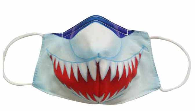 Monster Mouth Fabric Face Mask (Adult)