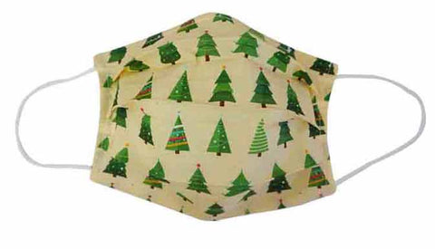 Christmas Tree Fabric Face Mask (Adult/Child)