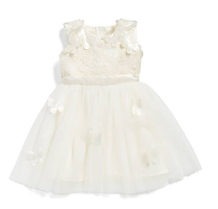 Popatu Butterfly Baby Dress - Popatu pageant and easter petti dress
