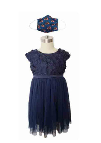USA NAVY DRESS + USA FABRIC FACE MASK
