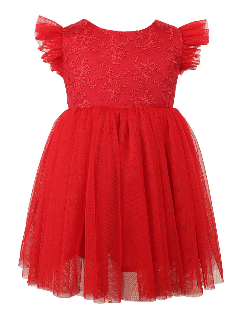 Baby Girl's Red Tulle Dress