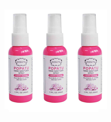 3pcs Hand Sanitizer Spray-Cherry Blossom-50ml - Popatu pageant and easter petti dress