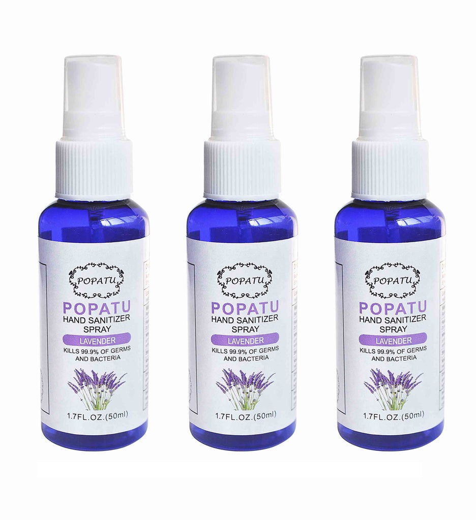 3pcs Hand Sanitizer Spray-Lavender-50ml - Popatu pageant and easter petti dress