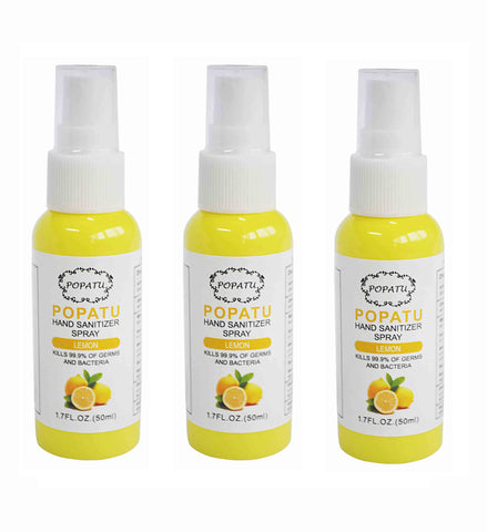 3pcs Hand Sanitizer Spray-Lemon-50ml - Popatu pageant and easter petti dress