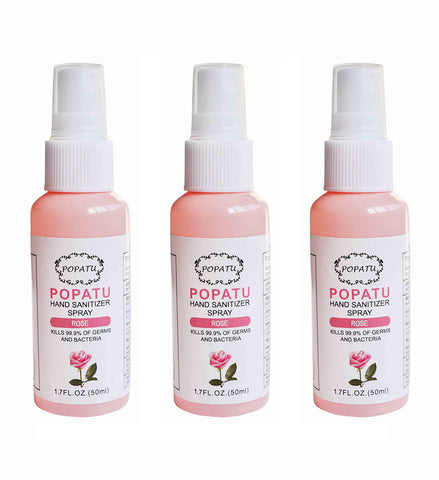 3pcs Hand Sanitizer Spray-Rose-50ml - Popatu pageant and easter petti dress
