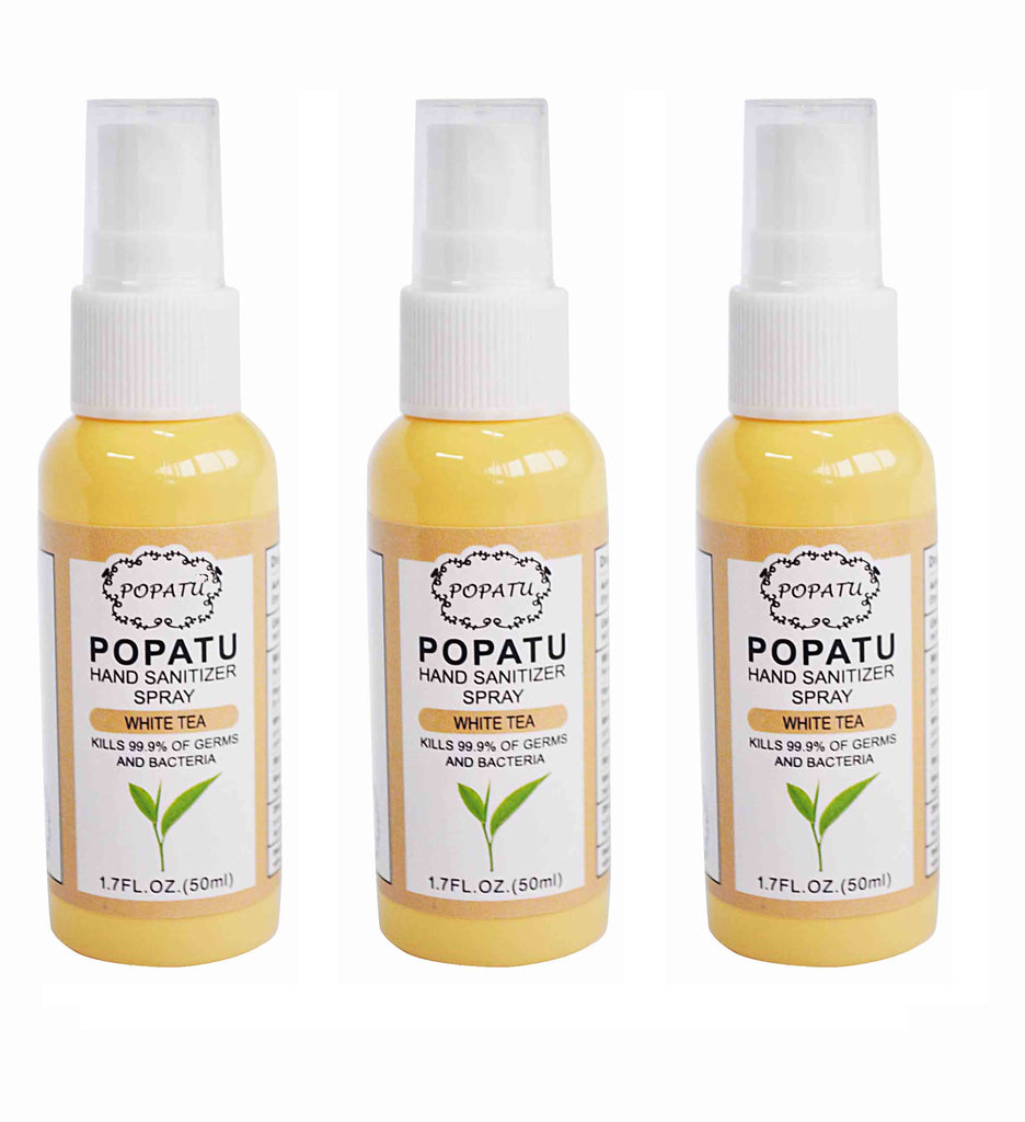 3pcs Hand Sanitizer Spray-White Tea-50ml-Arrive 5/15 - Popatu pageant and easter petti dress