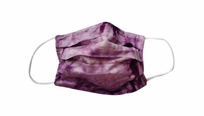 Adult- TieDye Purple Fabric Face Mask - Popatu pageant and easter petti dress