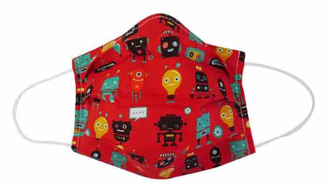 Robot Fabric Face Mask (Adult/Child)