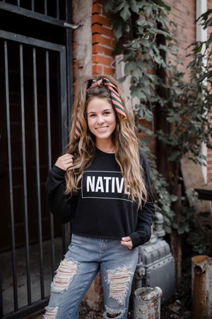 NATIVE Cropped Sweatshirt