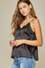 Always and Forever Satin and Lace Cami
