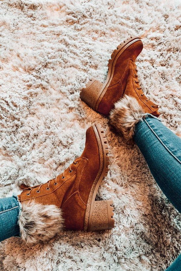 Apres Ski Faux Fur Booties