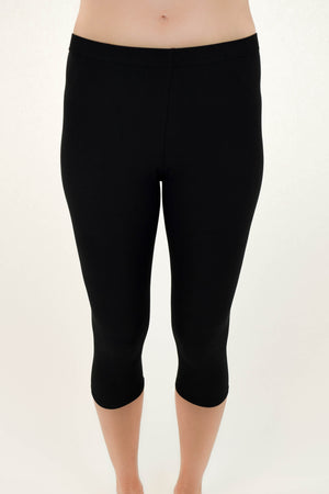 Cropped Softest Leggings Black