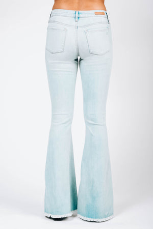 Faith Gaze Light Denim Flare Jeans