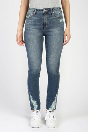 Georgetown Distressed High Waisted Jeans