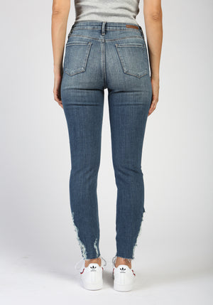 Georgetown Distressed High Waisted Jeans Product
