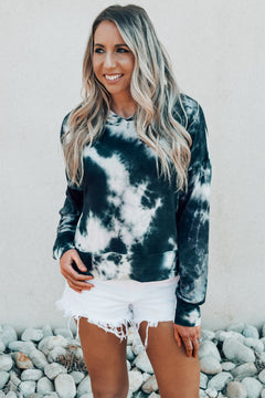 Janet Tie Dye French Terry Hoodie