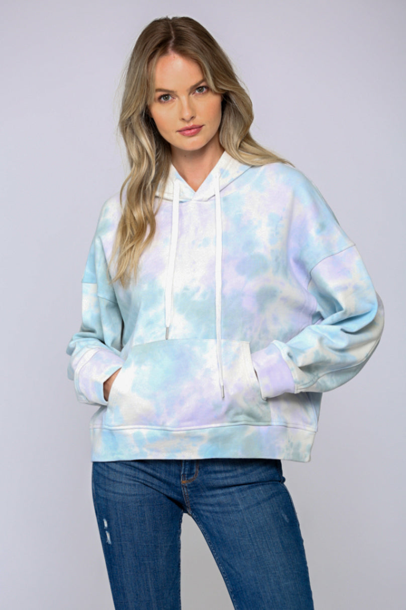 Just a Dream Tie Dye Hoodie Sweatshirt