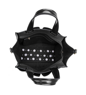 Kylie Black Handbag interior