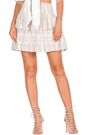 Laguna Dunes Layered Boho Skirt