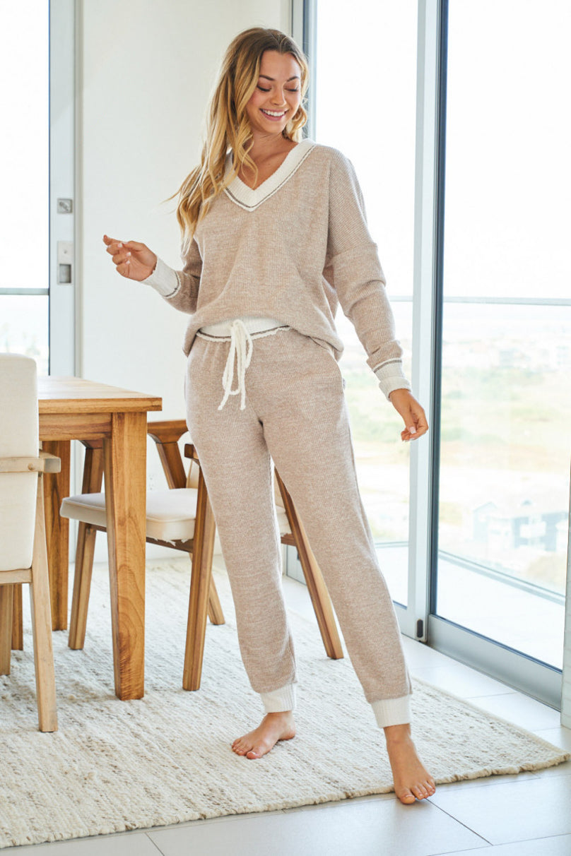 Latte and Lounge Jogger Set