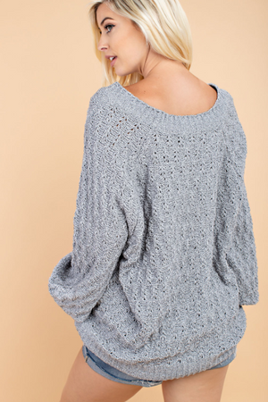 Lodge Luxe Sweater back view