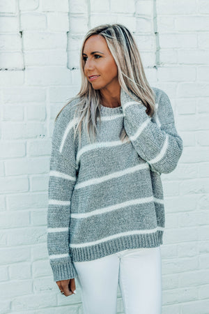 Main Street Striped Sweater
