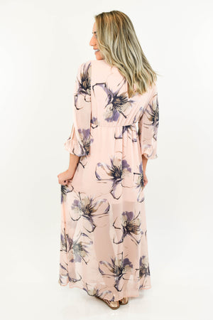 Midsummer's Dream Maxi Dress back