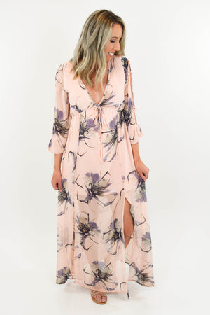 Midsummer's Dream Maxi Dress front