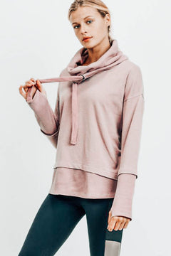 Mineral Springs Cowl Neck Pullover
