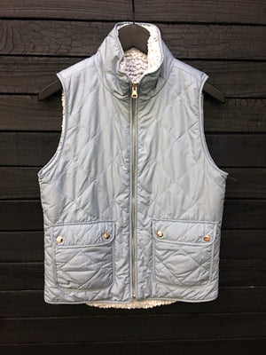 Park City Sherpa Lined Reversible Vest Product