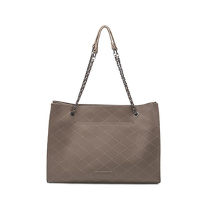 Nova Taupe Shoulder Bag back