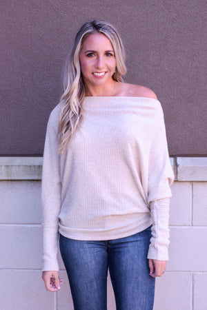 On Bonfire Time Slouchy Thermal Top