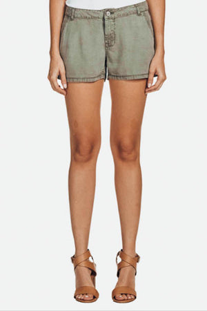 On Safari Relaxed Fit Olive Shorts