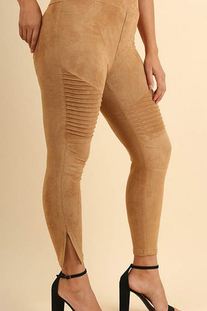 Joshua Tree Suede Moto Pants