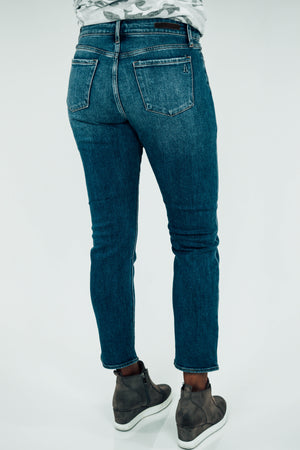 Shannon Fury Straight Leg Jeans Back