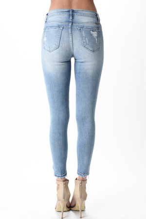 Shoreline Drive Distressed Jeans