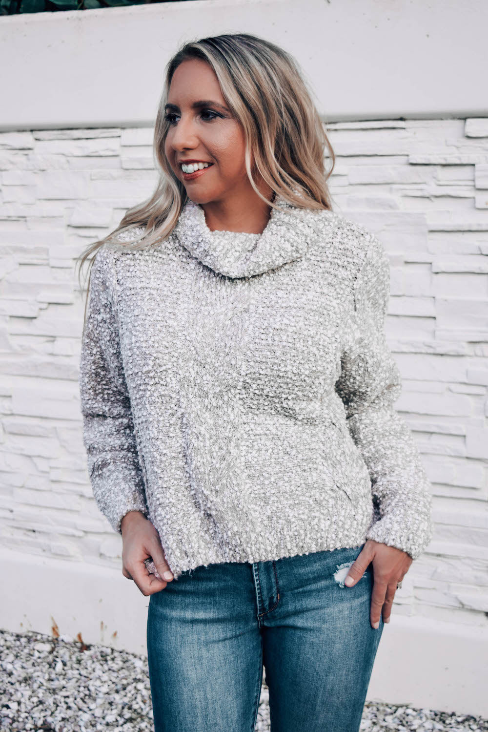 Snuggle Season Chunky Turtleneck Sweater