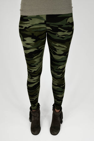 The Softest Leggings - Chic Camo