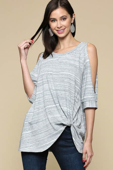 Stormchaser Cold Shoulder Top