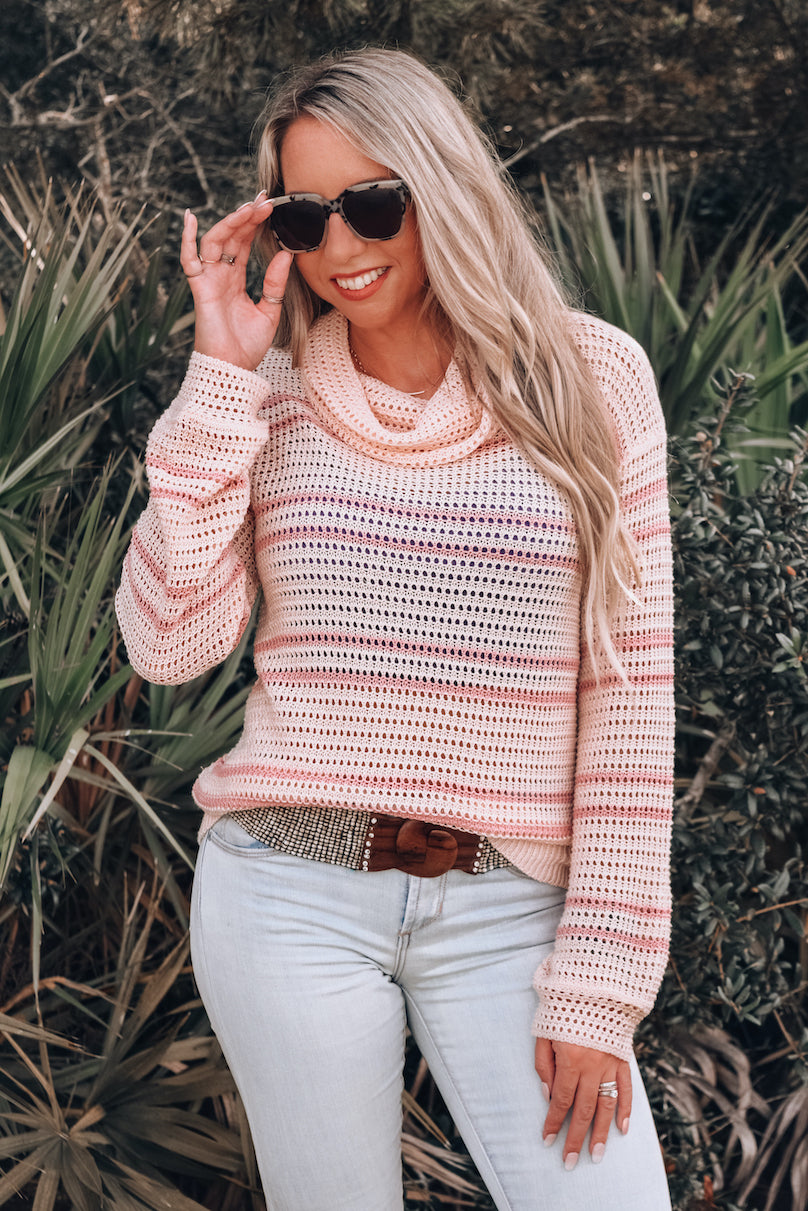 Sundance Open Knit Lightweight Sweater