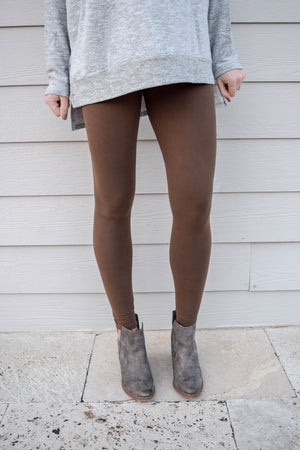 The Softest Leggings - Mocha