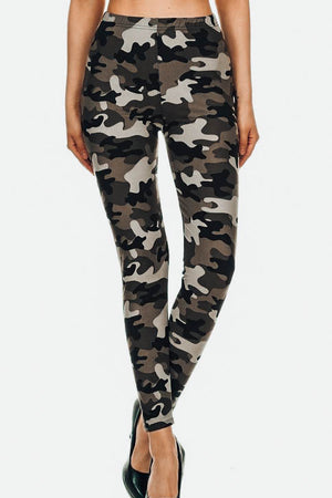 The Softest Leggings - Muted Camo