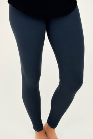 The Softest Leggings Charcoal Grey
